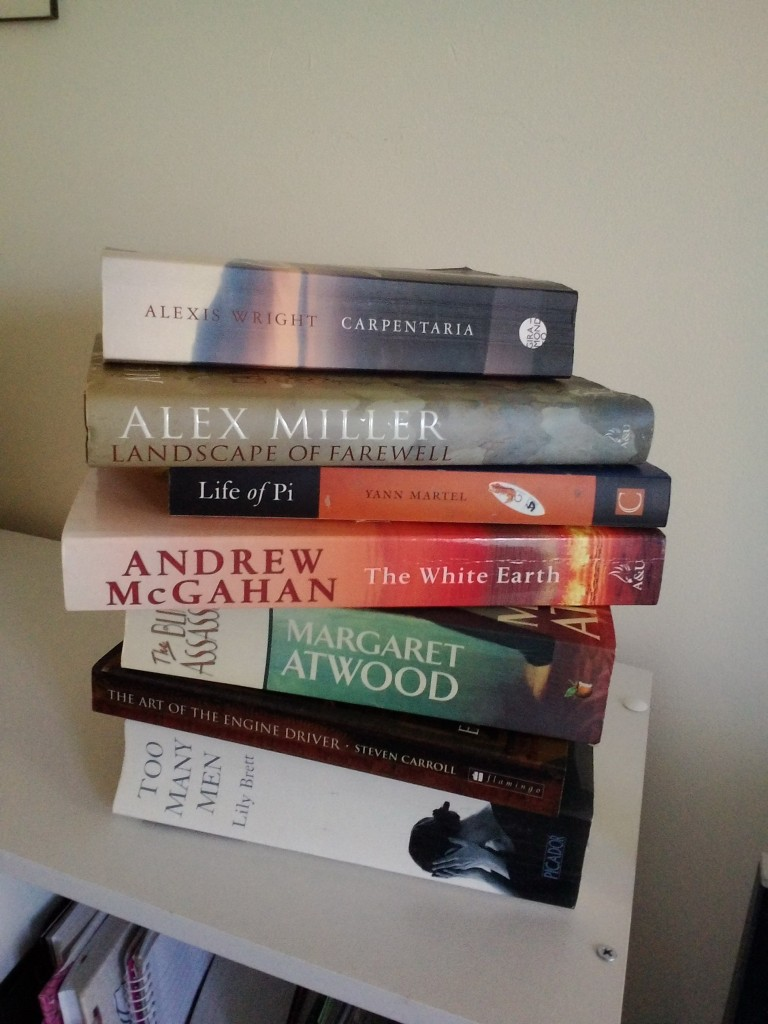 Random selection of one-hundred-and-one books we have read.