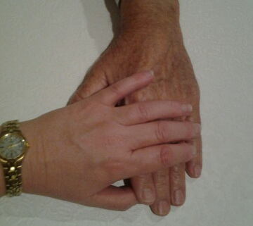 old and young hands 1