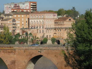 Albi, birthplace of Toulouse Latrec (2012). Travel is good for the writing life