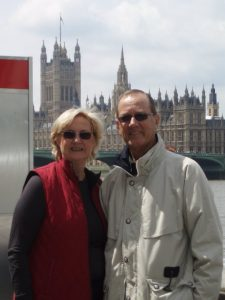 Sister and brother-in-law, Elizabeth and David Fleming